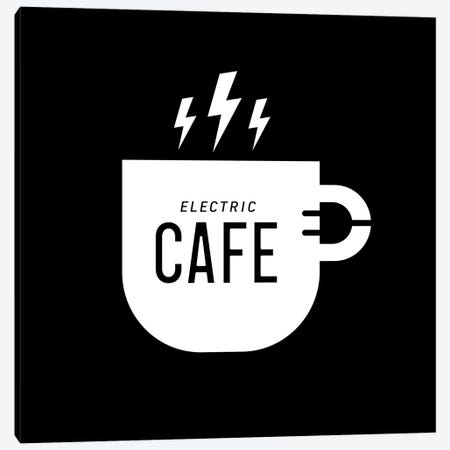 Electric Café Canvas Print #VHE159} by Viktor Hertz Canvas Wall Art