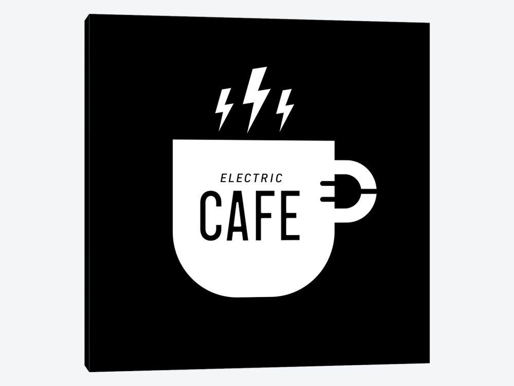 Electric Café by Viktor Hertz 1-piece Art Print