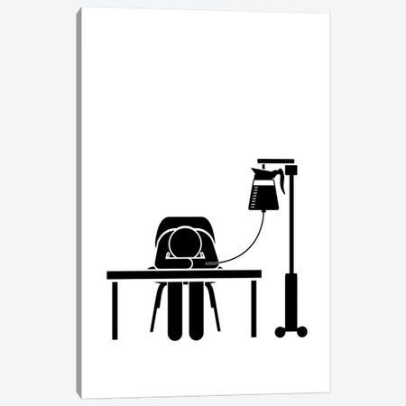 Give Me Coffee Canvas Print #VHE162} by Viktor Hertz Canvas Art Print