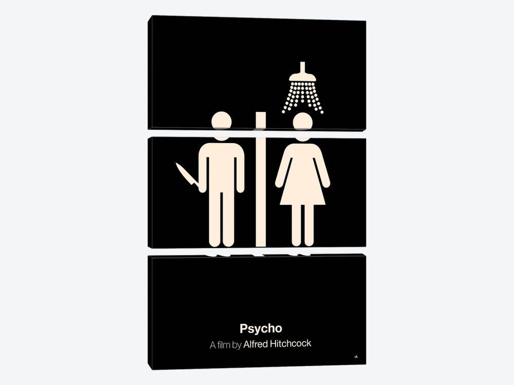 Psycho by Viktor Hertz 3-piece Art Print