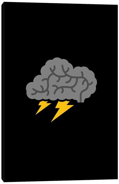 Brain Storm Canvas Art Print