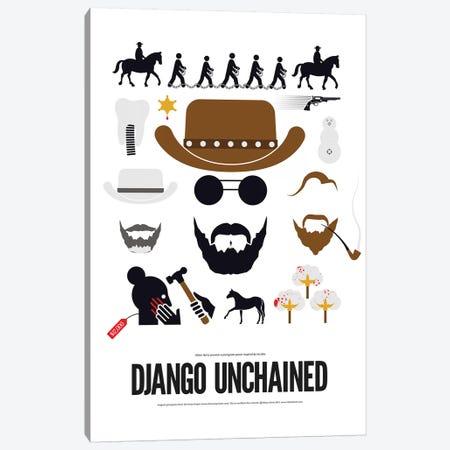 Django Unchained Canvas Print #VHE186} by Viktor Hertz Canvas Artwork