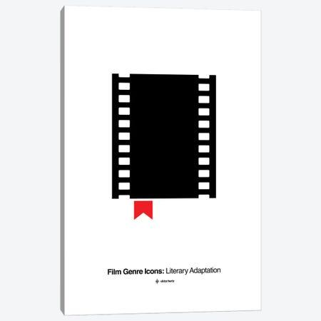 Literary Adaptation Film Genre Icon Canvas Print #VHE209} by Viktor Hertz Canvas Artwork