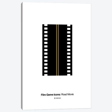 Road Movie Film Genre Icon Canvas Print #VHE212} by Viktor Hertz Art Print