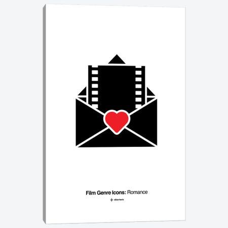 Romance Film Genre Icon Canvas Print #VHE213} by Viktor Hertz Canvas Art Print