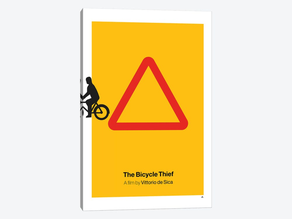 The Bicycle Thief by Viktor Hertz 1-piece Art Print