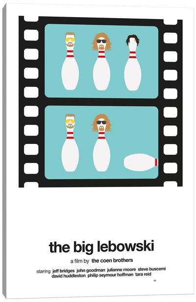 The Big Lebowski Canvas Art Print