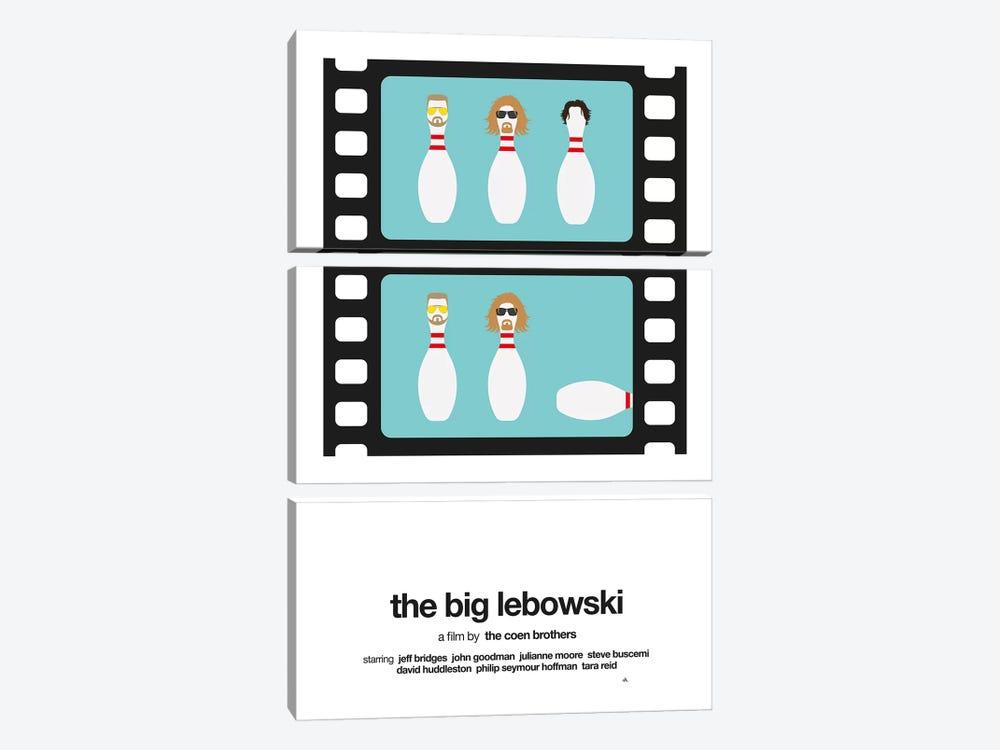 The Big Lebowski by Viktor Hertz 3-piece Canvas Wall Art