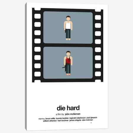 Die Hard Canvas Print #VHE25} by Viktor Hertz Canvas Wall Art