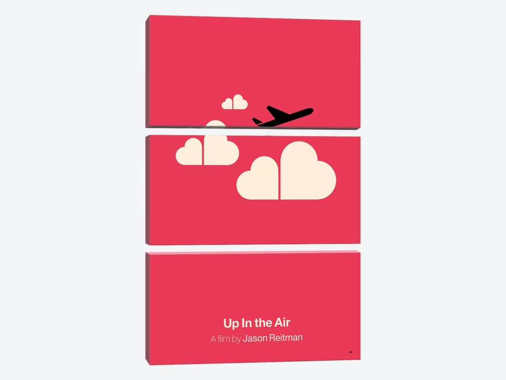 Up In The Air by Viktor Hertz 3-piece Canvas Artwork
