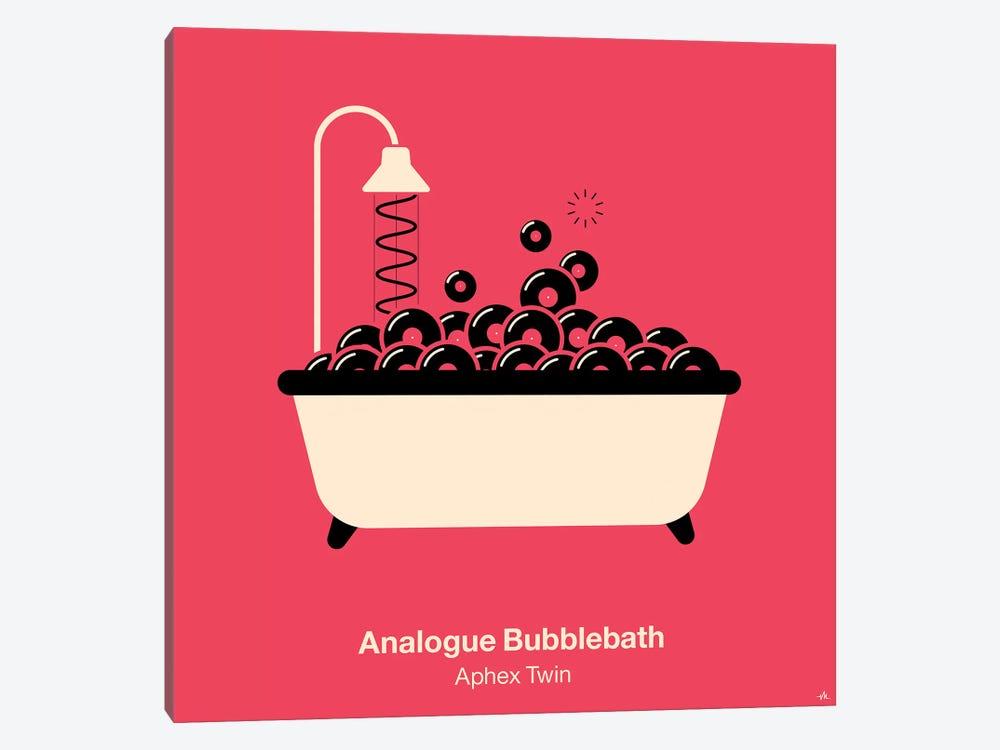 Analogue Bubblebath by Viktor Hertz 1-piece Canvas Art Print