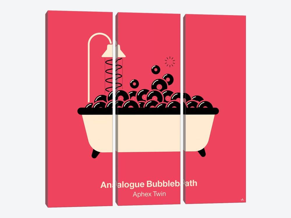 Analogue Bubblebath by Viktor Hertz 3-piece Canvas Art Print