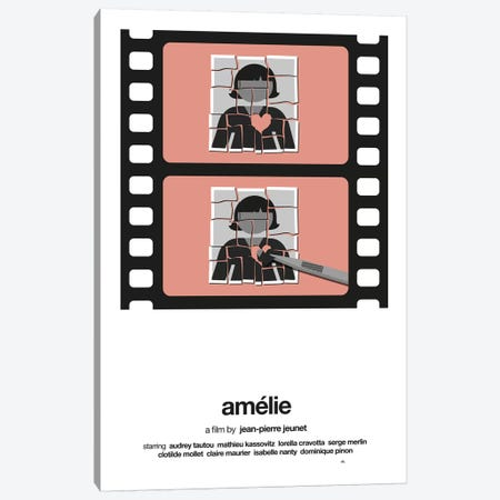 Amelie Canvas Print #VHE2} by Viktor Hertz Canvas Art Print