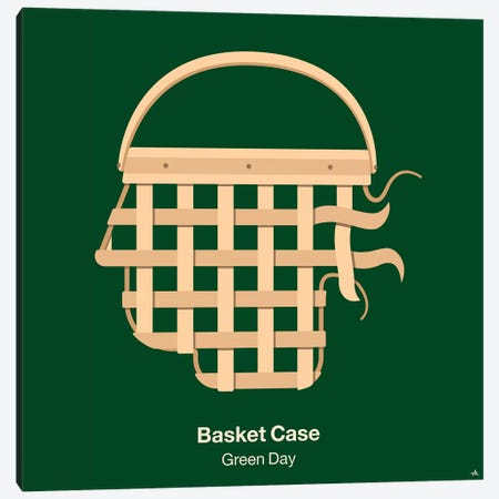 Basket Case Canvas Print #VHE30} by Viktor Hertz Canvas Wall Art