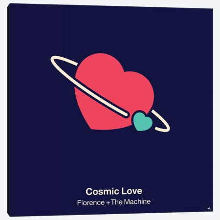 Cosmic Love Canvas Print #VHE37} by Viktor Hertz Canvas Print