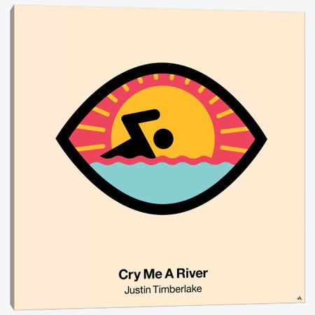 Cry Me A River Canvas Print #VHE38} by Viktor Hertz Canvas Art