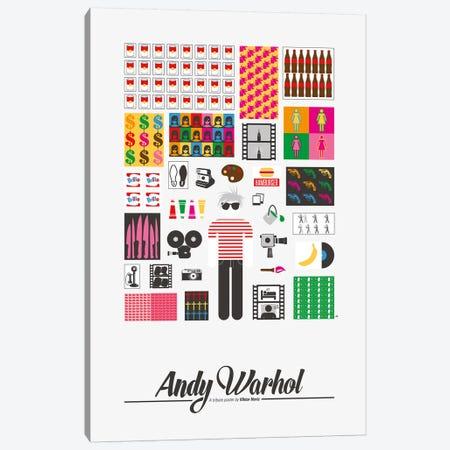 Andy Warhol 3-Piece Canvas #VHE3} by Viktor Hertz Canvas Art Print