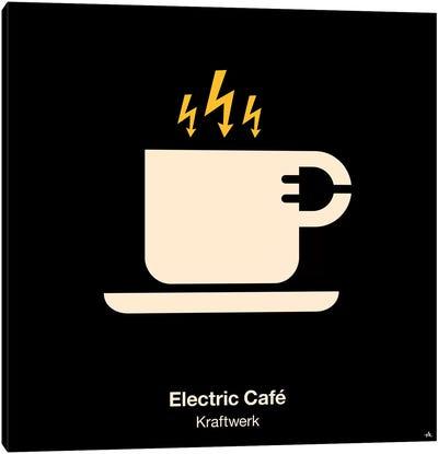 Electric Cafe Canvas Art Print