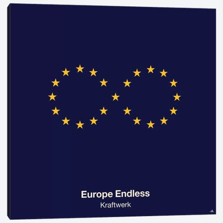 Europe Endless Canvas Print #VHE43} by Viktor Hertz Art Print