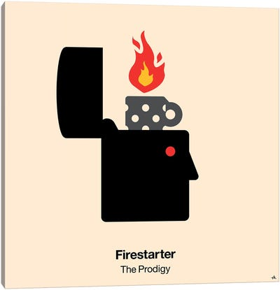 Firestarter Canvas Art Print