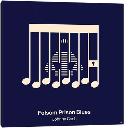 Folsom Prison Blues Canvas Art Print