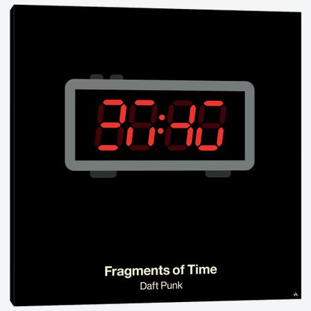 Fragments Of Time Canvas Print #VHE47} by Viktor Hertz Canvas Wall Art