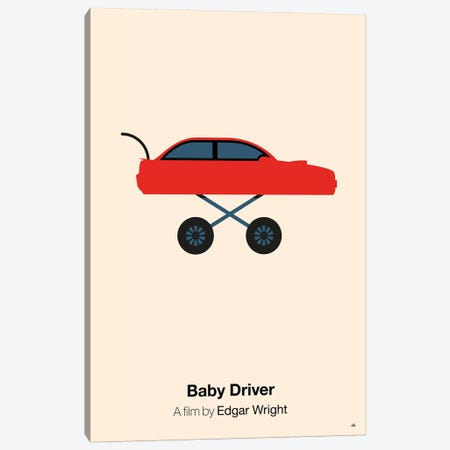Baby Driver Canvas Print #VHE4} by Viktor Hertz Canvas Artwork