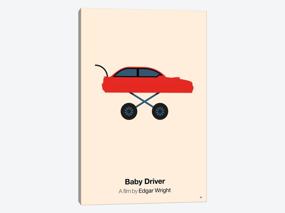 Baby Driver by Viktor Hertz 1-piece Canvas Art Print