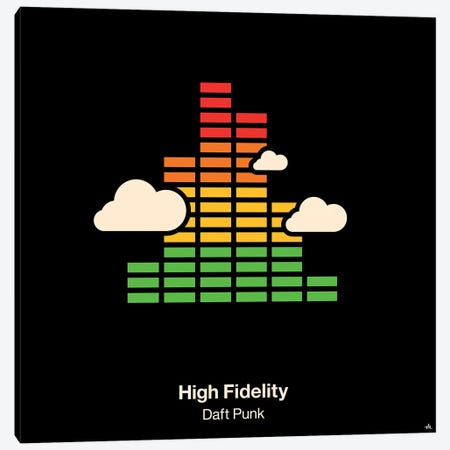 High Fidelity Canvas Print #VHE50} by Viktor Hertz Canvas Wall Art
