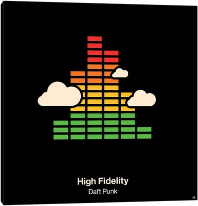 High Fidelity Canvas Art Print