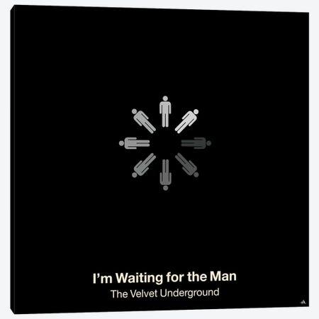 I'm Waiting For The Man Canvas Print #VHE55} by Viktor Hertz Art Print