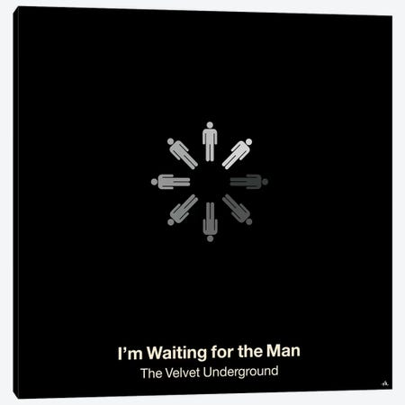 I'm Waiting For The Man Canvas Print #VHE55} by Viktor Hertz Art Print