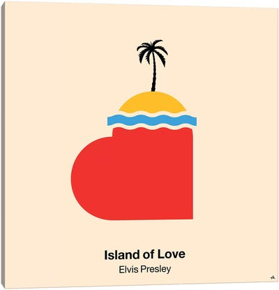 Island Of Love Canvas Art Print