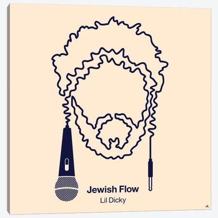 Jewish Flow Canvas Print #VHE57} by Viktor Hertz Canvas Print
