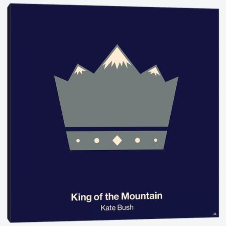 King Of The Mountain Canvas Print #VHE59} by Viktor Hertz Canvas Artwork