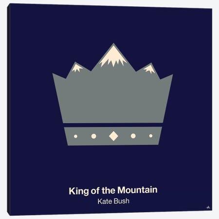 King Of The Mountain Canvas Print #VHE59} by Viktor Hertz Canvas Artwork