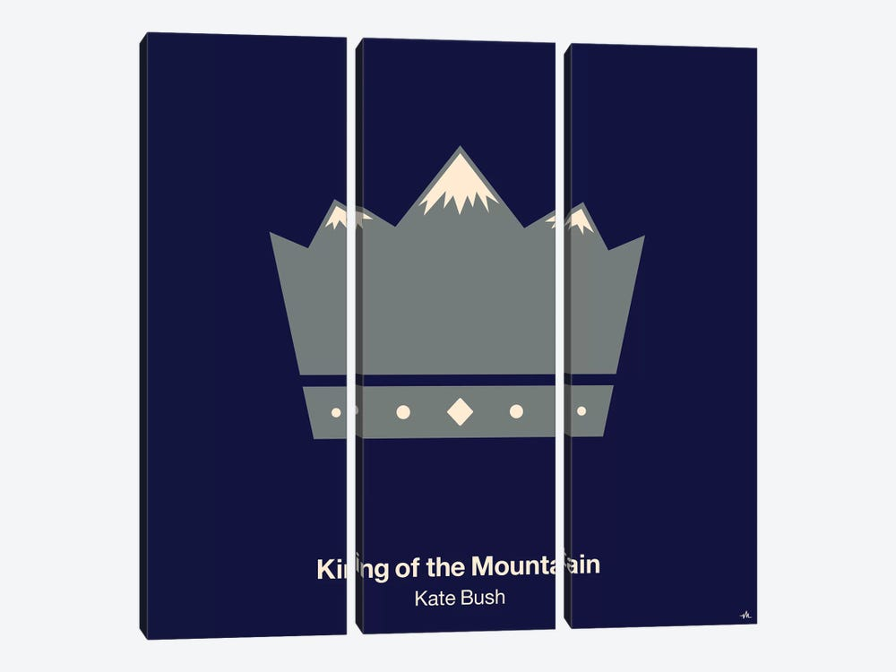 King Of The Mountain by Viktor Hertz 3-piece Canvas Art