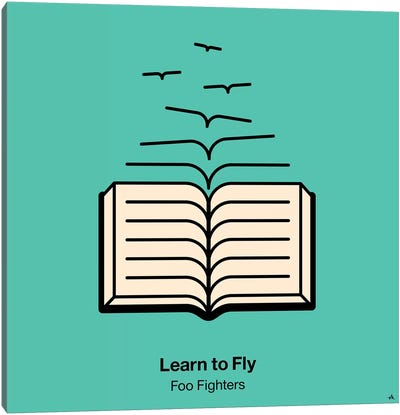 Learn To Fly Canvas Art Print
