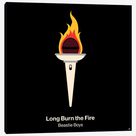 Long Burn The Fire Canvas Print #VHE63} by Viktor Hertz Canvas Art Print