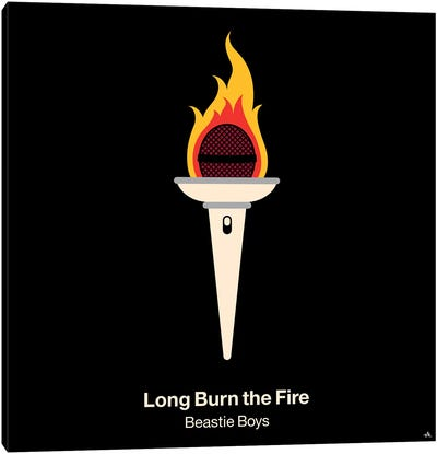 Long Burn The Fire Canvas Art Print