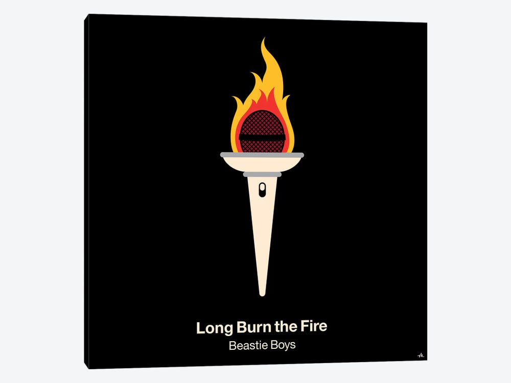 Long Burn The Fire by Viktor Hertz 1-piece Canvas Print