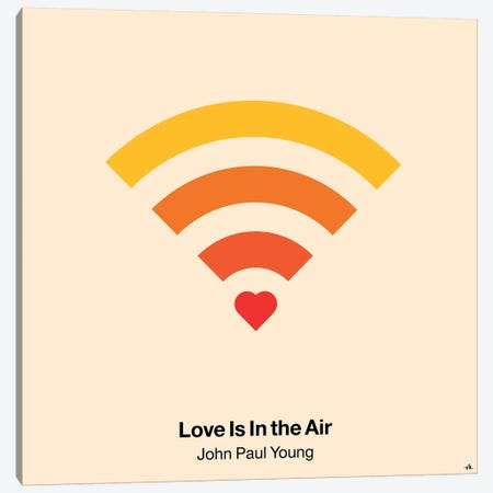Love Is In The Air Canvas Print #VHE64} by Viktor Hertz Canvas Artwork