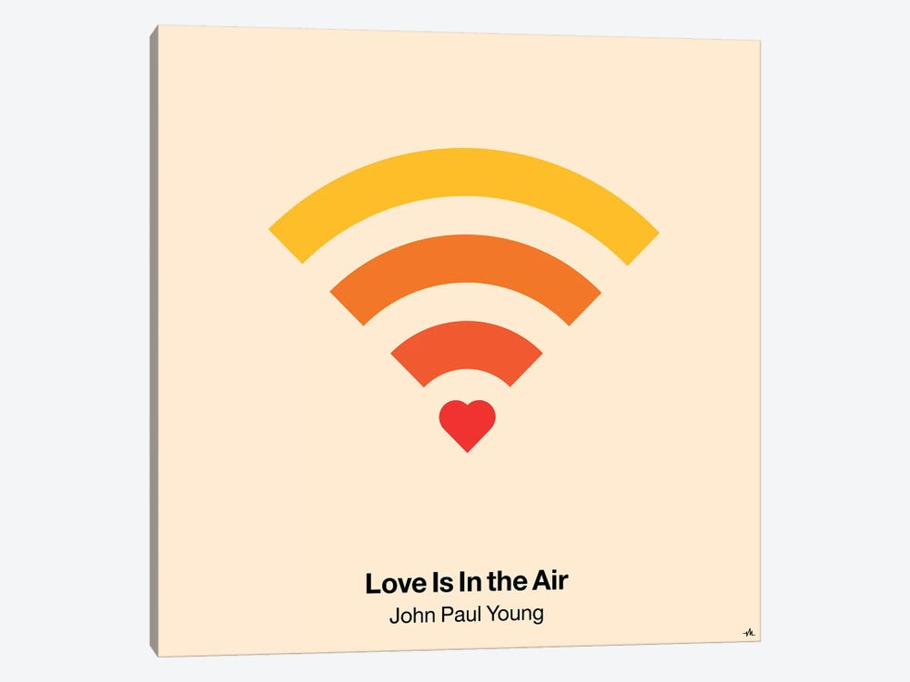 Love Is In The Air by Viktor Hertz 1-piece Canvas Artwork