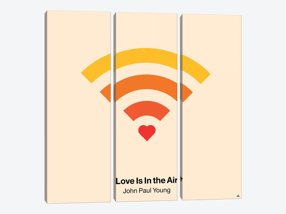 Love Is In The Air by Viktor Hertz 3-piece Canvas Artwork