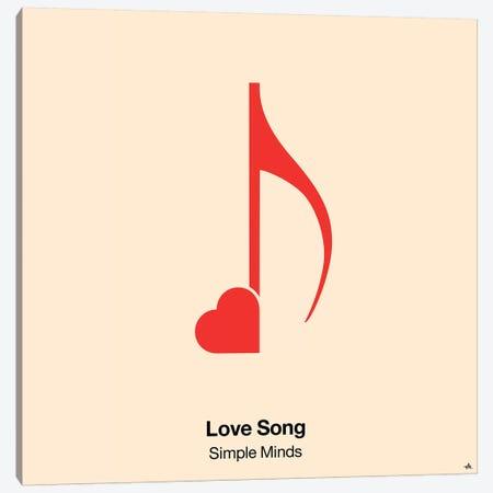 Love Song Canvas Print #VHE65} by Viktor Hertz Canvas Artwork