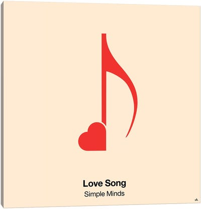 Love Song Canvas Art Print