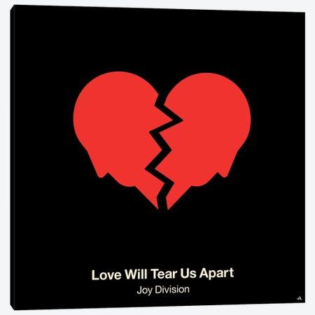 Love Will Tear Us Apart Canvas Print #VHE66} by Viktor Hertz Canvas Wall Art