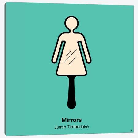 Mirrors Canvas Print #VHE67} by Viktor Hertz Canvas Artwork