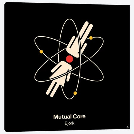 Mutual Core Canvas Print #VHE72} by Viktor Hertz Canvas Art