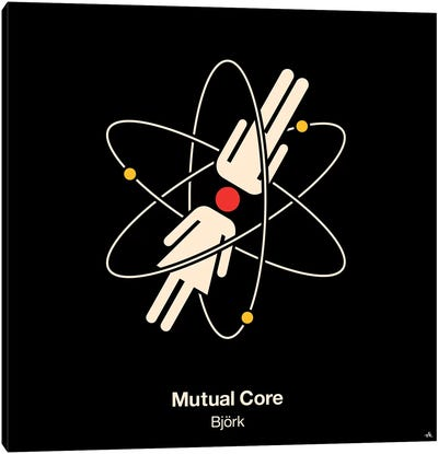 Mutual Core Canvas Art Print